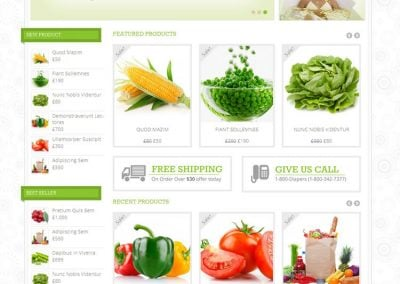 Fresh Market – Grocery Theme