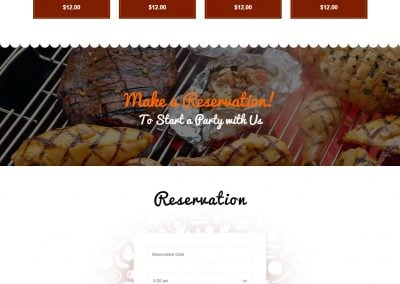 Ojeen – Restaurant Website