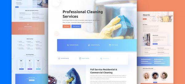 Cleaning Services Website by NatWeb Solutions