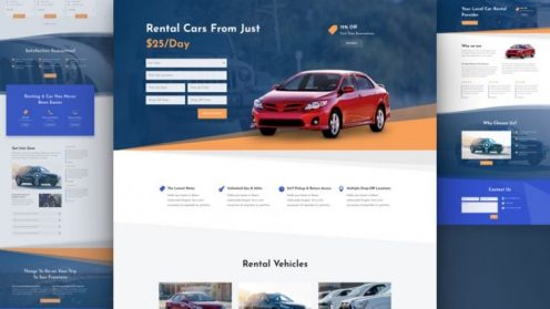 Car Rental Website by NatWeb Solutions