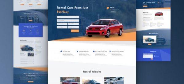 Car Rental Website by NatWeb Solutions