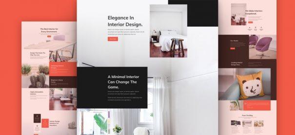 Interior Design Company Website