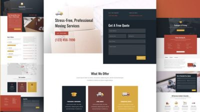 Moving Company Website by NatWeb Solutions