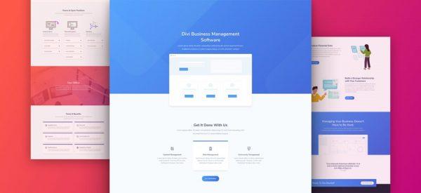 SaaS Company website
