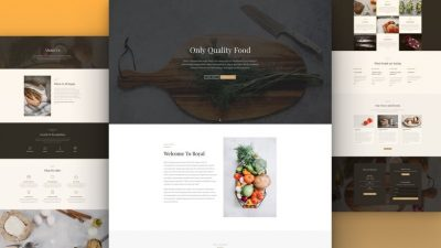 Restaurant Website by NatWeb Solutions