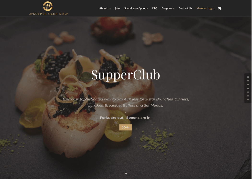 Supperclubme - the most sophisticated way to pay less for 5-star dining