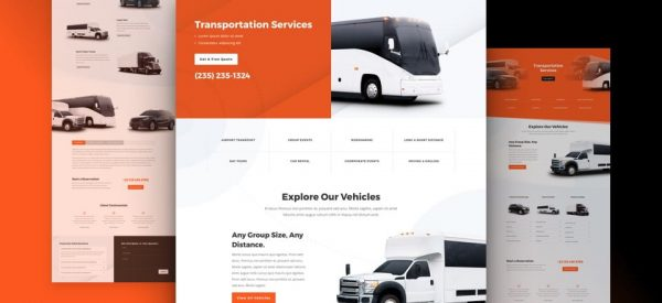 Transportation Services Website by NatWeb Solutions