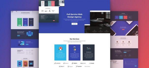 Web Development Company Website by NatWeb Solutions